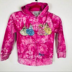 Disney Princess Zip up Sweatshirt with hood